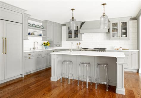 custom kitchen with gray cabinets home bunch interior