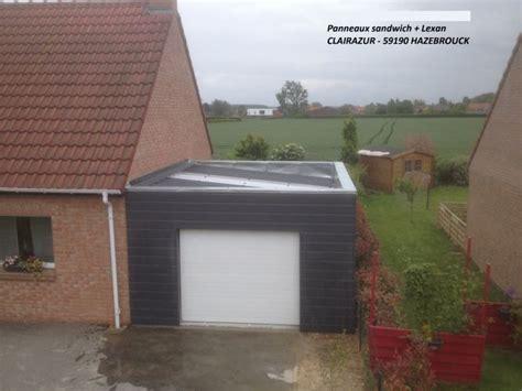 hauteur garage choix type toiture pour extension et contrainte hauteur