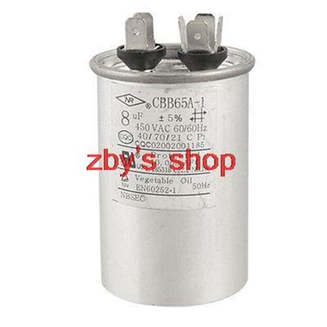 starting capacitor polarity cbb65a 1 8uf 450v ac non polar motor start up capacitor in capacitors from electronic components