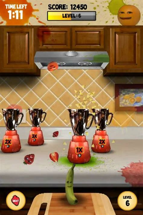 Kitchen Carnage by Annoying Orange Kitchen Carnage For Ios And Android