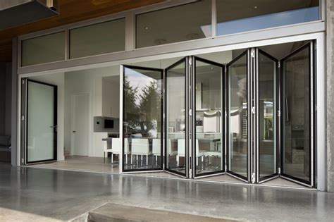 Collapsing Sliding Glass Doors World S Only Edge To Edge Glass Folding Wall