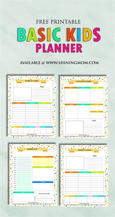 free printable planner pages for students 608 best planners organization printables images on