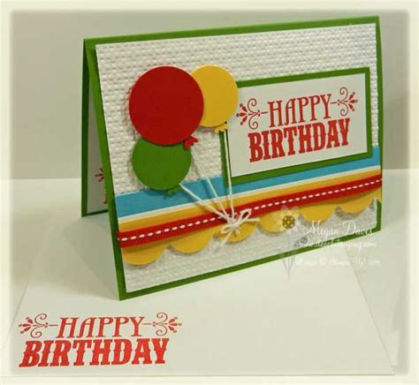 how to make an amazing birthday card stin up s you re amazing to make an easy birthday