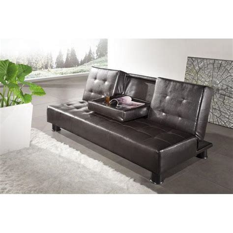 cheap leather futon cheap leather sofa bed homehighlight co uk