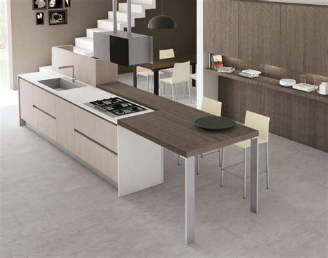 formas cocinas 20 formas de incorporar una mesa en la cocina cocinas