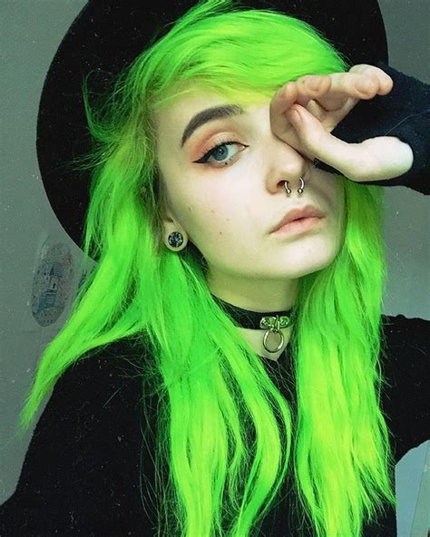 green hair color crazy neon hair colors for 2017 best hair color ideas