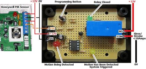 adt motion sensor wiring diagram circuit diagram maker