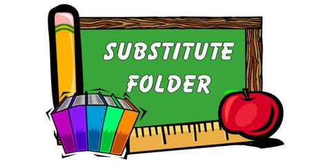 Esl Worksheets How To Make Mondays Your Best Days Substitute Folder Template