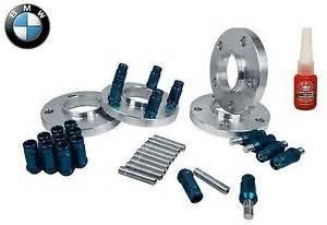 Bmw Lug Nuts Complete Bmw 20 Mm Wheel Spacers Stud Conversion W Blue