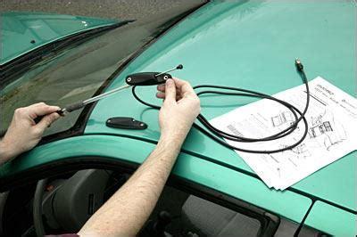 installing a car antenna