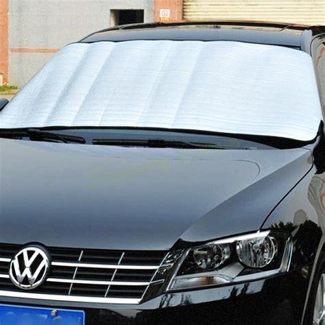 window foils windshield sun shade car windshield visor - Window Shade Cover