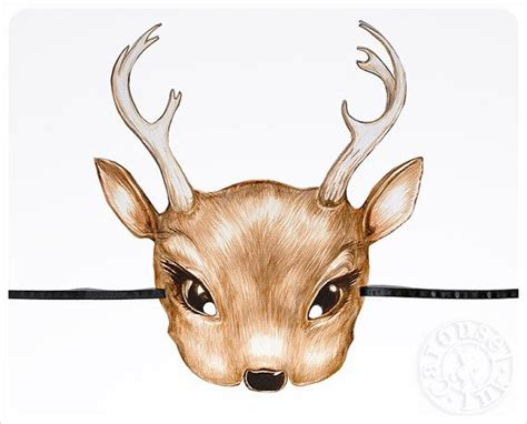 printable deer mask template 153 best images about printable mask on pinterest mask