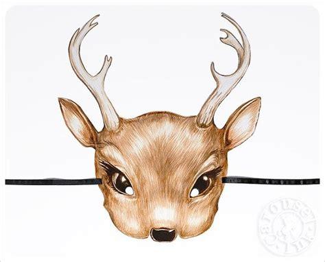 printable mask of deer 153 best images about printable mask on pinterest mask