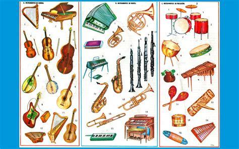imagenes de laminas escolares instrumentos musicales imagenes wallpapers laminas
