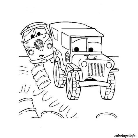 coloriage camion cars jecolorie com