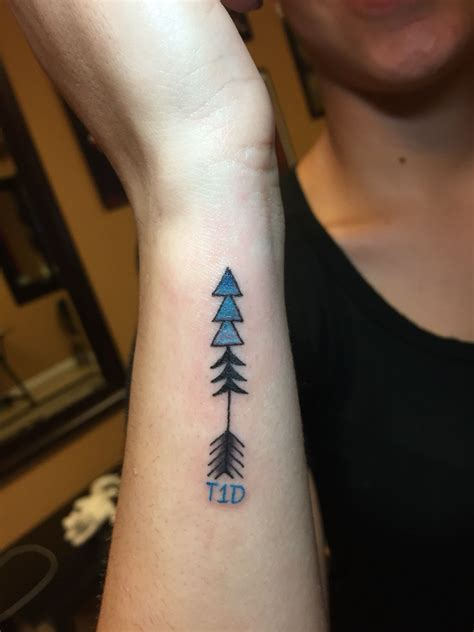 medical wrist tattoos type 1 diabetes ideas diabetes