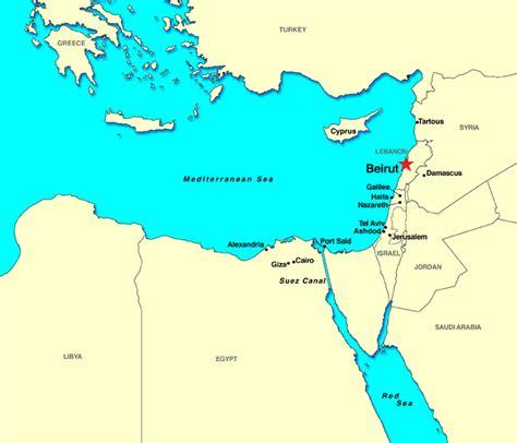 beirut on world map beirut lebanon discount cruises last minute cruises