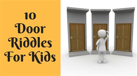 Riddle For A Door by Door Riddles