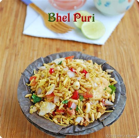 bhel puri recipe papdi recipe raks kitchen