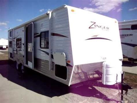 couchs rv couchs cer trailers new crossroads rv zinger 27 bh at