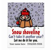 Gallery Images And Information Snow Shoveling Flyer