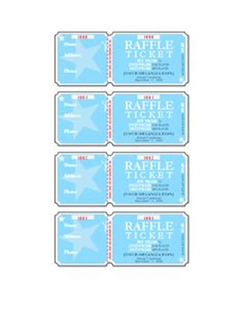 office depot raffle ticket template raffle ticket template word pinteres