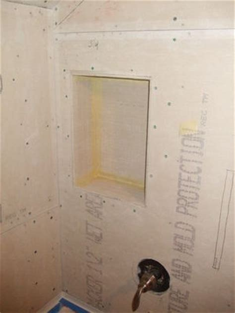 Shower Cubby Holes by Shower Cubby Bath Remodel