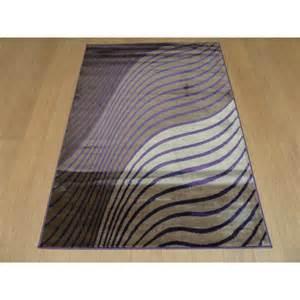 Modern Purple Rugs Beige Purple Sincerity Modern Ripple Rug Carpet Runners Uk