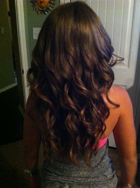 shaping long hair layered curly hair back view v shape www pixshark com