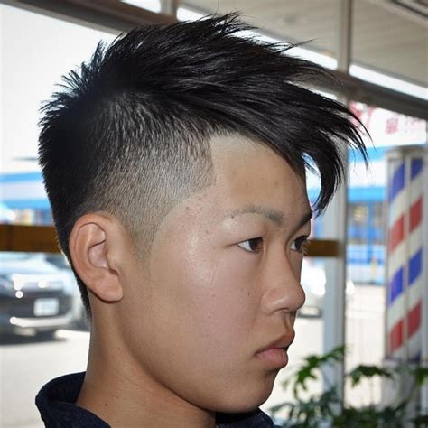 feathered chinese bang 60 breathtaking spiked hair styles stand out in 2018