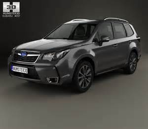 Subaru Touring Subaru Forester Xt Touring 2016 3d Model Humster3d