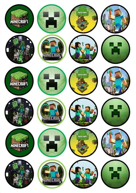 printable cake toppers best 25 minecraft cake toppers ideas on