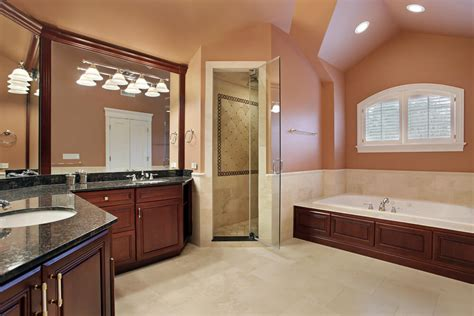 Salmon Colored Bathroom by 50 New Home Custom Luxury Bathroom Designs