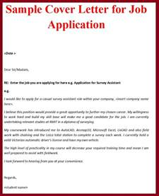Cover Letter On Application cover letter application cover letter templates