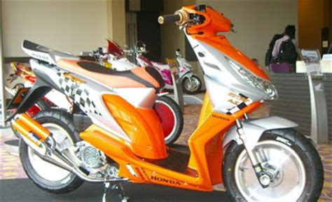 modifikasi motor honda beat matic motogila