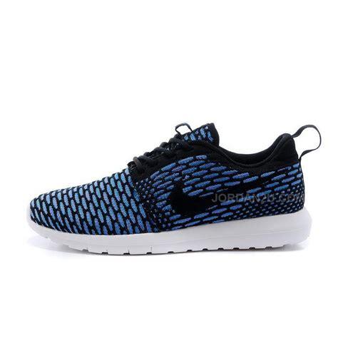 nike knit shoes nike roshe run knit womens shoes couples sneaker blue