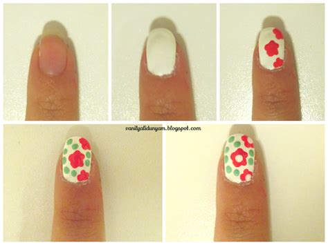 easy nail art procedure vanilyalı d 252 nyam kozmetik makyaj g 252 zellik sırları