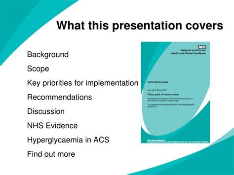 nhs powerpoint template ppt chest of recent onset powerpoint presentation
