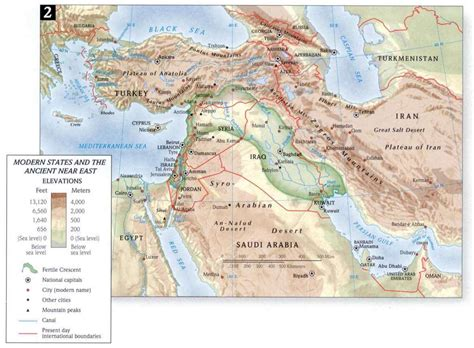 map of ancient near east bible atlas