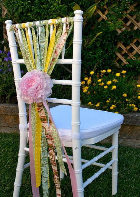 Baby Shower Chair Decorations by Cool Summer Baby Shower Decoration Ideas