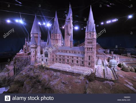 Scale Model Of Hogwarts Castle
