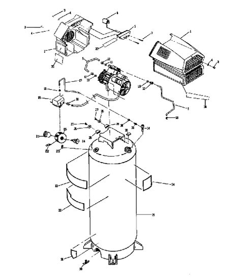 oil  air compressor manual   owners