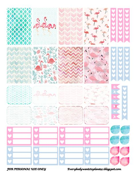 printable planner stickers free every body wants to plan new themes part 2