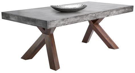 gray rectangle dining table warwick dining table rectangular from sunpan 27902