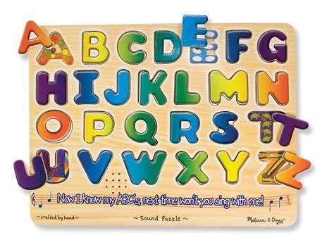 Letter Puzzles doug alphabet sound puzzle wooden