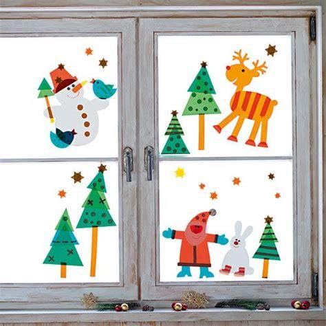Fensterdeko Weihnachten Klasse 1 by Sachenmacher Fensterbilder Weihnachten Bastelset