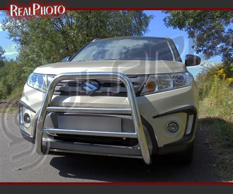 Suzuki Nudge Bar Suzuki Vitara 2015 High Bull Bar Nudge Bar A Bar
