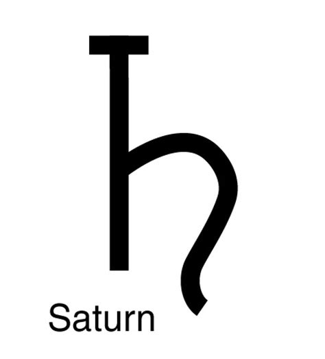 saturn signs image gallery saturn sign