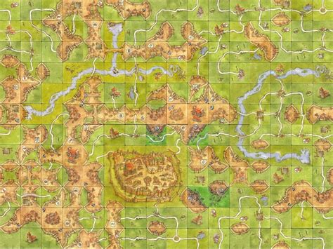 desktop wallpaper boardgamegeek carcassonne tiles wallpaper ready board game art