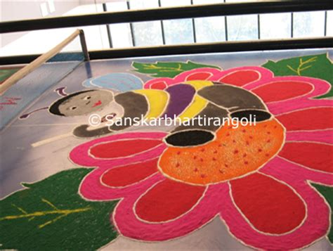 themes rangoli competition rangoli with themes for competition sanskar bharti rangoli